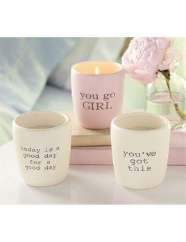 Pazitive Ceramic Candles