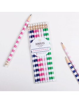 Pen/Pencil Striped Pencil Pack