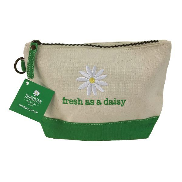Pouch Fresh As A Daisy - Doodle Pouch
