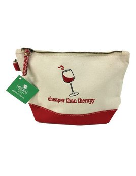 Pouch Cheaper Than Therapy - Doodle Pouch