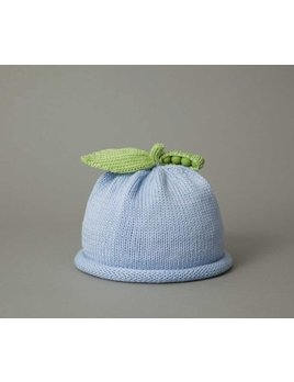 Hat Blue Sweet Pea Knit Hat
