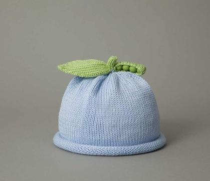 Hat Blue Sweet Pea Knit Hat