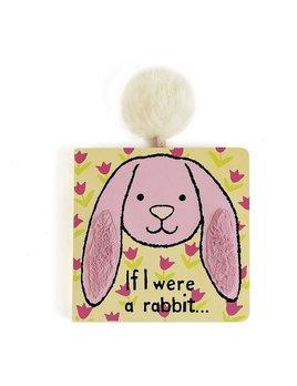 Book If I Were a Rabbit Book - Tulip Pink