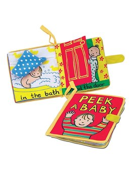 Book Peek a Baby Activity Book
