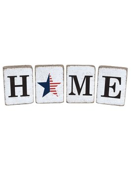 White Tumbling Block, Home Bundle, American Star