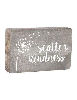 Scatter Kindness XL Block
