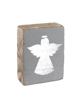 Stone Tumbling Block, White Angel