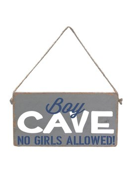 Sign Boy Cave - Mini Plank