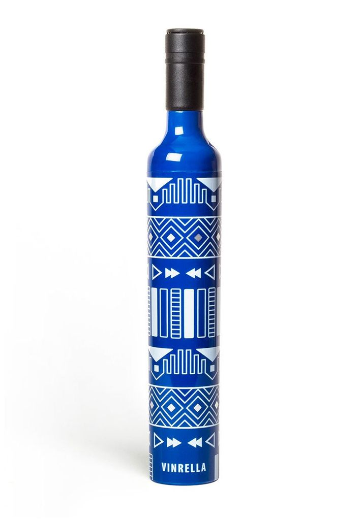 Umbrella Wine Bottle Umbrella - Tribal