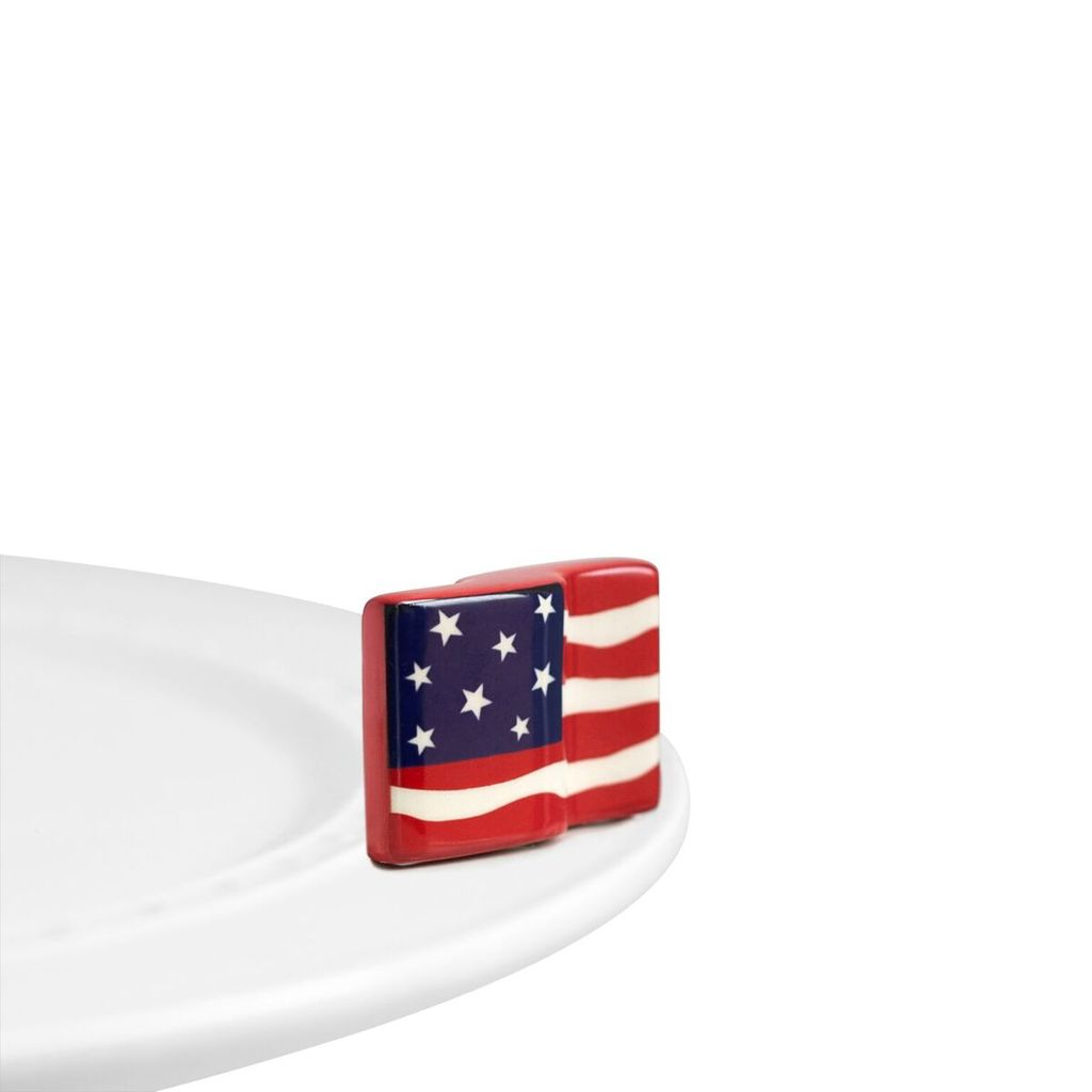 Minis Attachment Nora Fleming Minis - American Flag