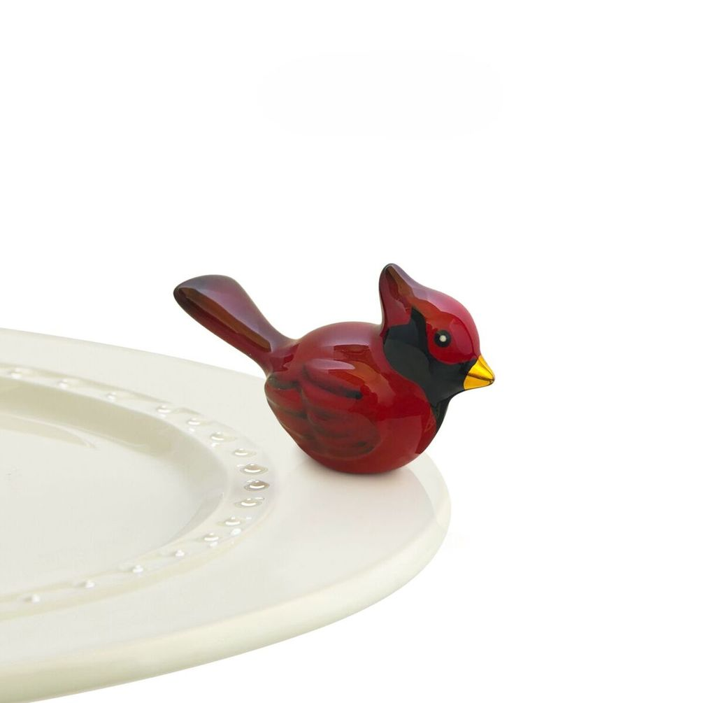 Minis Attachment Nora Fleming Minis - Red Cardinal
