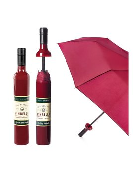 Umbrella Wine Bottle Umbrella - Burgundy Label