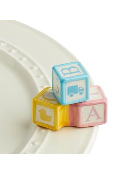 Minis Attachment Nora Fleming Minis - Baby Blocks