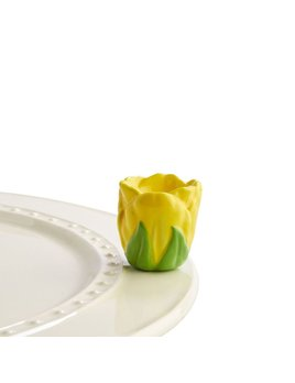 Minis Attachment Nora Fleming Minis - Yellow Tulip