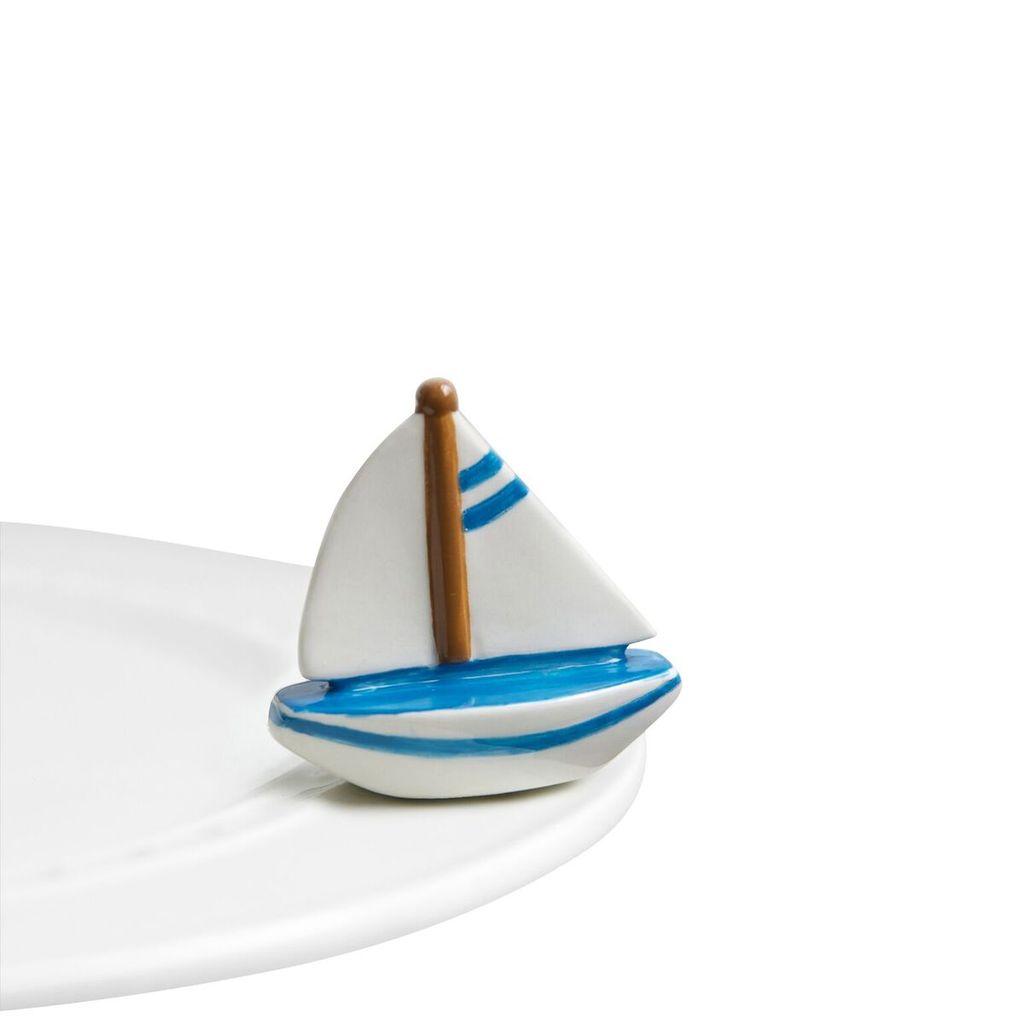 Minis Attachment Nora Fleming Minis - Sailboat