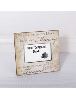 Frame When Someone Wood Frame