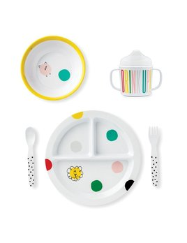 PLATE Kate Spade New York Baby Melamine Dining Set - Hey Baby