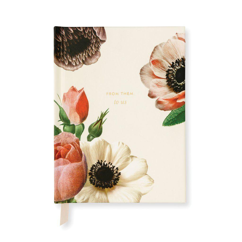 Kate Spade New York Bridal Gift Log - Blushing Floral