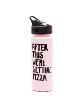 Water Bottle ban.do Work It Out Water Bottle - After This We're Getting Pizza