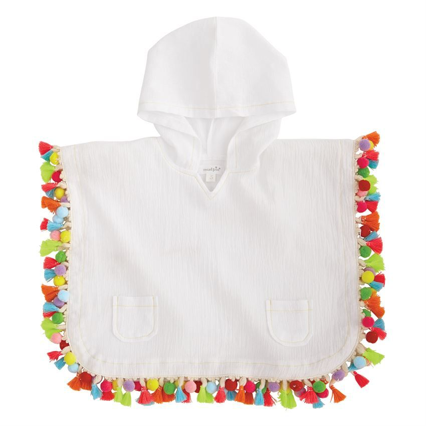 Cover Up Hooded Tassel Cover-Up