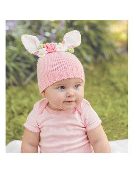 Hat Knit Bunny Hat