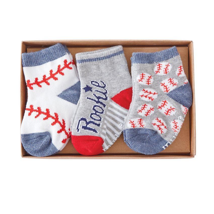 All Boy Baseball Sock Set