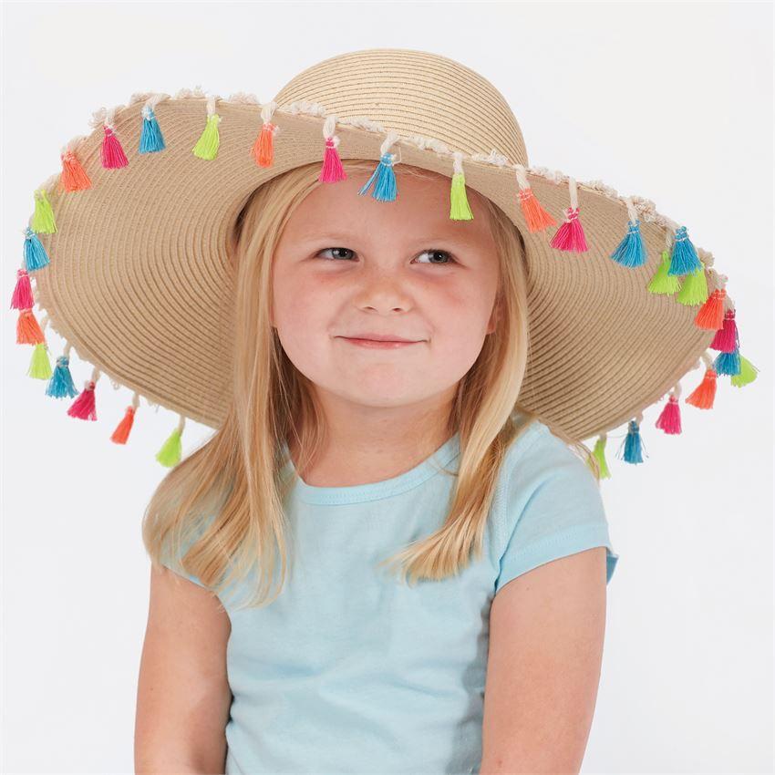 Hat Tassel Sun Hat