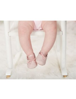 Pink Shimmer Ballet Flats