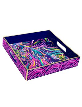 Tray Lilly Pulitzer Lacquer Tray, Beach Loot