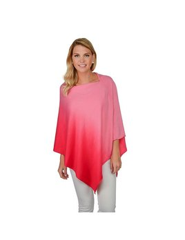 Poncho Ombre Poncho - Hot Pink
