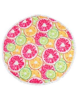 Towel Sloane Round Beach Towel - Citrus