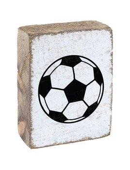 White Tumbling Block, Soccer Ball