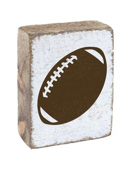 White Tumbling Block, Football