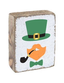 White Tumbling Block, Leprechaun