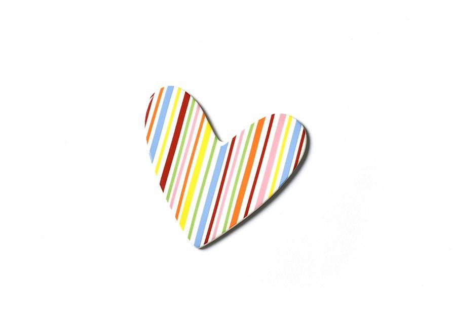 Attachment Striped Heart Mini Attachment