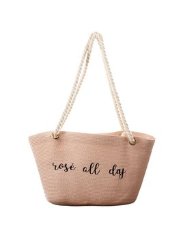 Bag Rose All Day Straw Bag