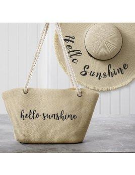 Bag Hello Sunshine Straw Bag