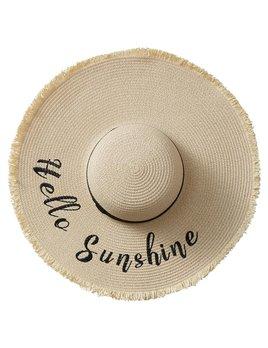 Hat Hello Sunshine Straw Hat