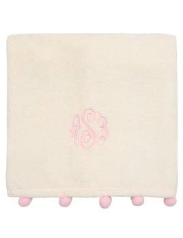 Blanket Personalized Poms Blanket