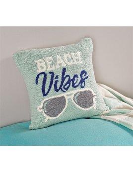 Pillow Beach Vibes Hooked Pillow