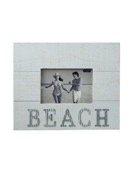 Frame Wood & Tin Beach Frame