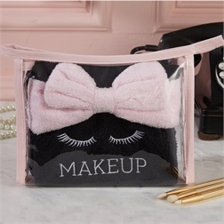 Makeup Removal Kit - Inc. 2 Towels and 1 Headband