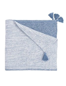 Ombre Baby Blanket -  Indigo