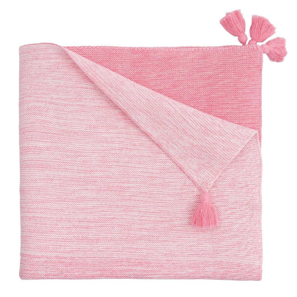 Ombre Baby Blanket -  Pink