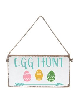 Sign Egg Hunt - Mini Plank