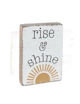 Rise & Shine XL Block