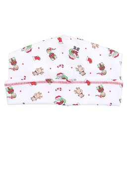 Hat Santa's Helper Red Printed Hat
