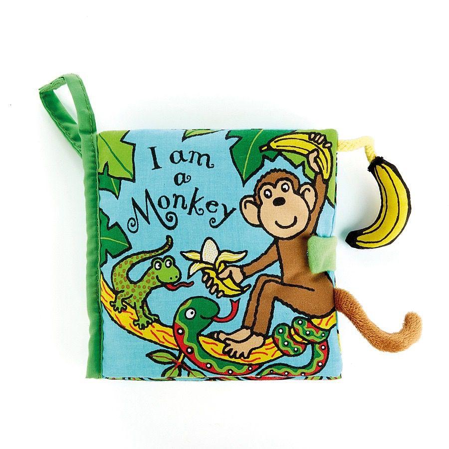 Book I am a Monkey Activity Book