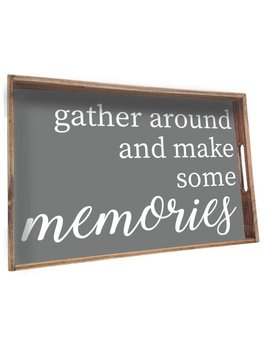 Tray Memories Wooden Tray