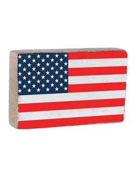 50 Stars Flag XL Block